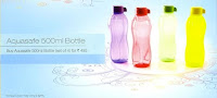Tupperware Water Bottles 500 ml set