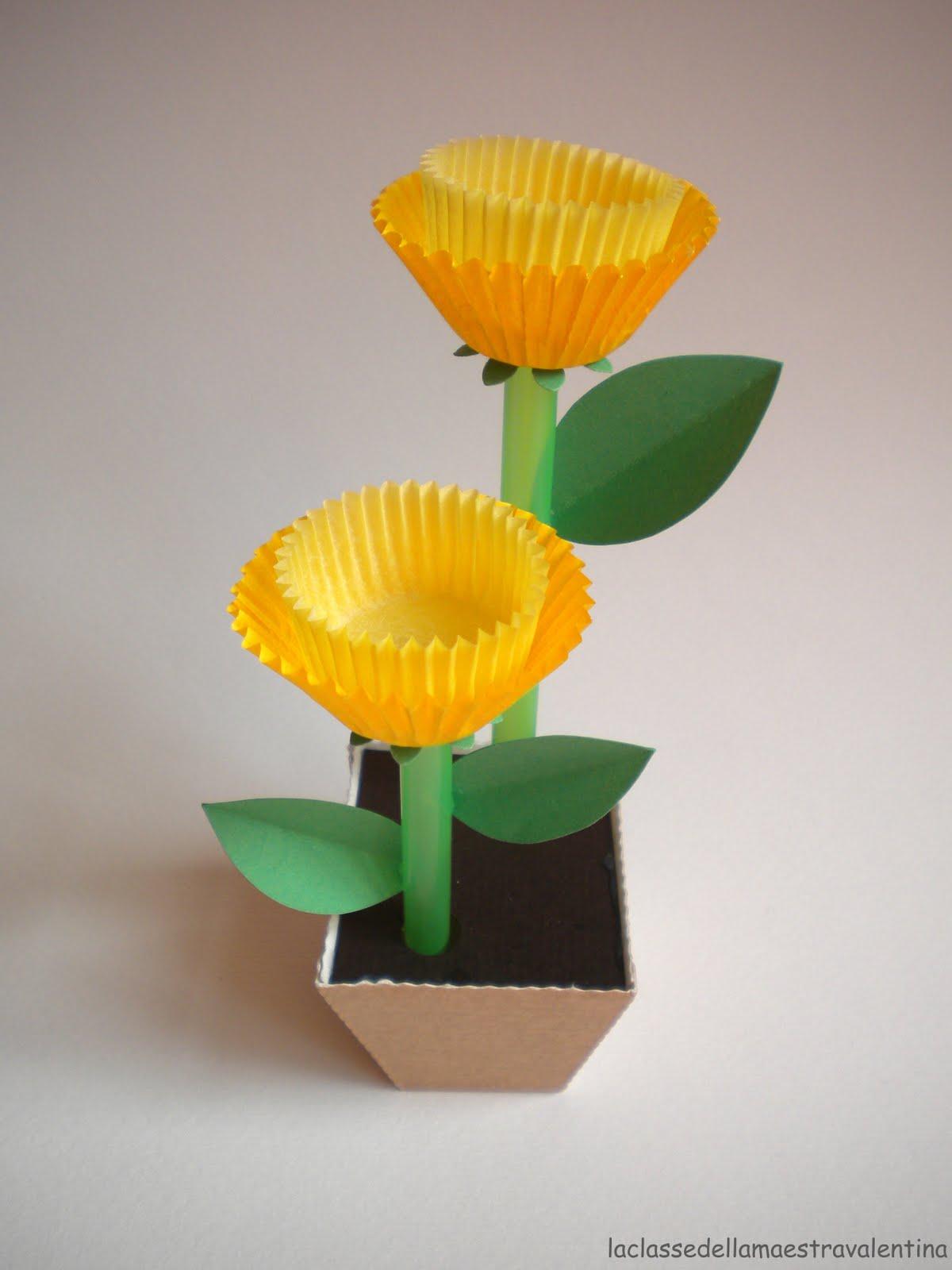 La classe della maestra valentina a casa di liz for Small flowers for crafts
