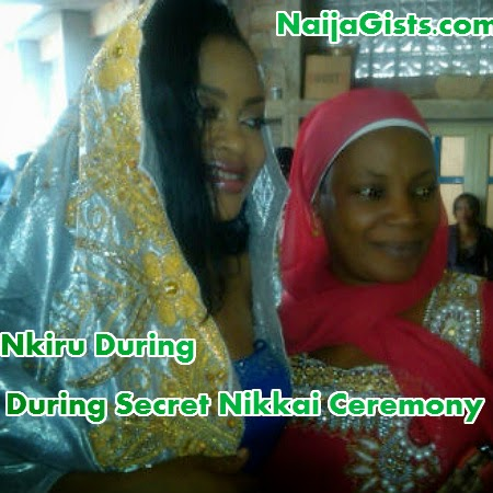nkiru sylvanus wedding photo