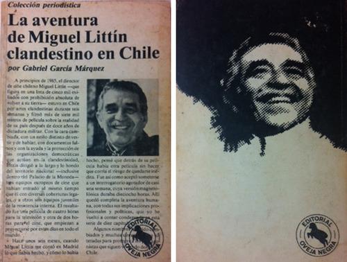 EL DIA QUE PINOCHET CENSURÓ A GARCIA MARQUEZ por Francisco Siredey