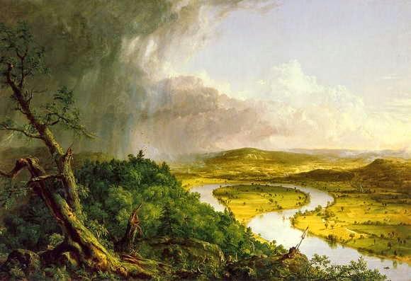 Lukisan Thomas Cole, The Oxbow