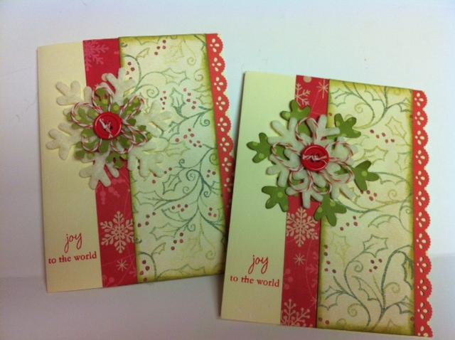 Adornments by lisa handmade christmas cards for Handmade christmas cards