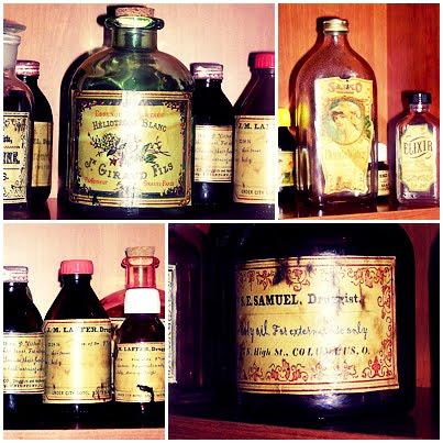 Decorar frascos para nuestros cosméticos.
