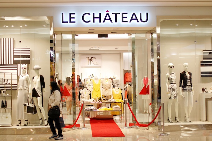 Le Château opens concept store in Richmond Centre Covet and Acquire