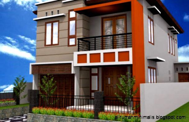 gambar rumah minimalis lantai 2 terbaru design rumah