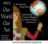 2012 Our World our Art Blog Event