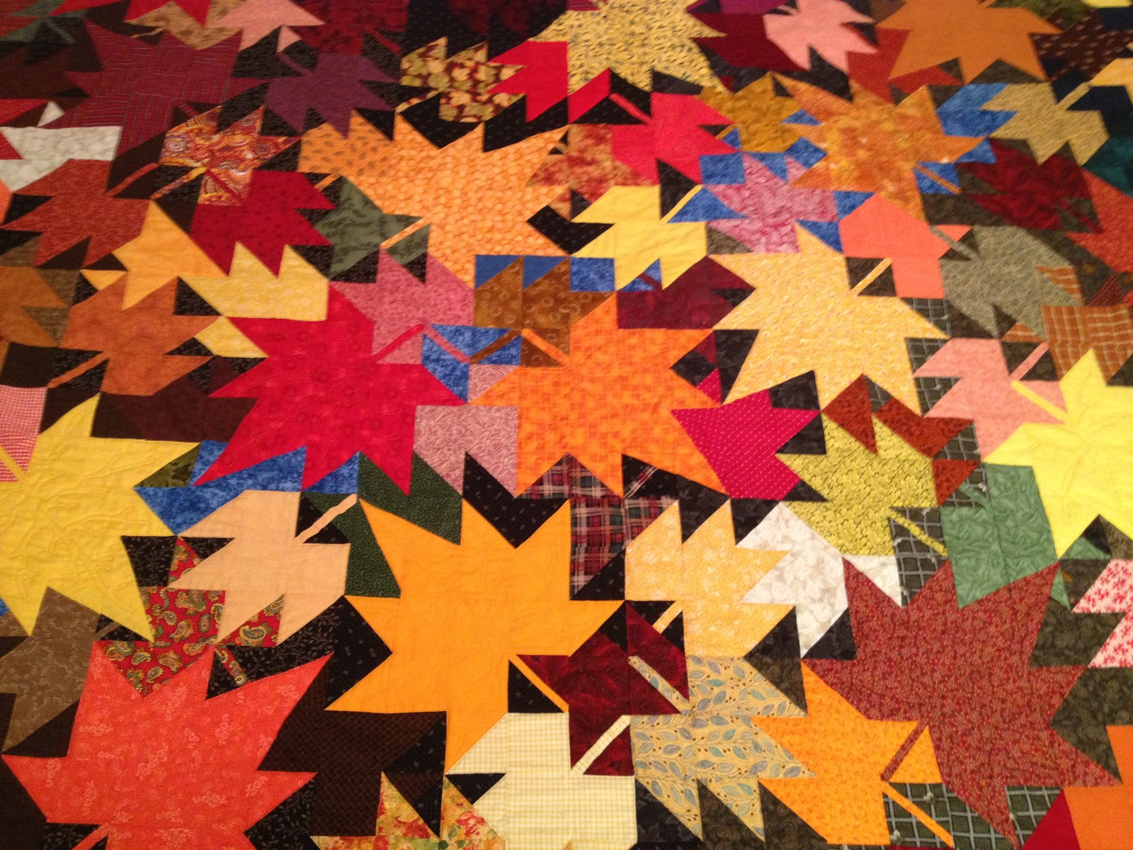 Free Motion Quilting Patterns Leaves : Small Quilts and Doll Quilts: Free Motion Quilting