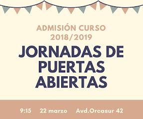 ADMISIONES CURSO 1819