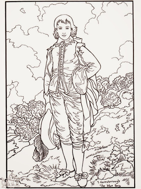 Gainsborough Coloring Pages