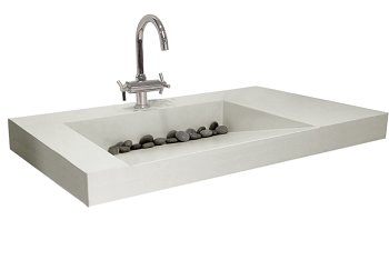 The Stand Alone Sink Units Would Make The Perfect Addition To Any Powder Room Or Bathroom Choose From 5 Sink Styles And 8 Concrete Colors As Well As A