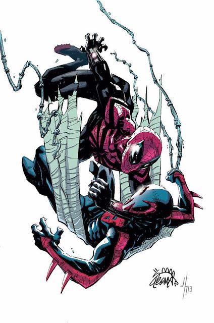 Superior Spiderman vs Spiderman 2099 en Septiembre