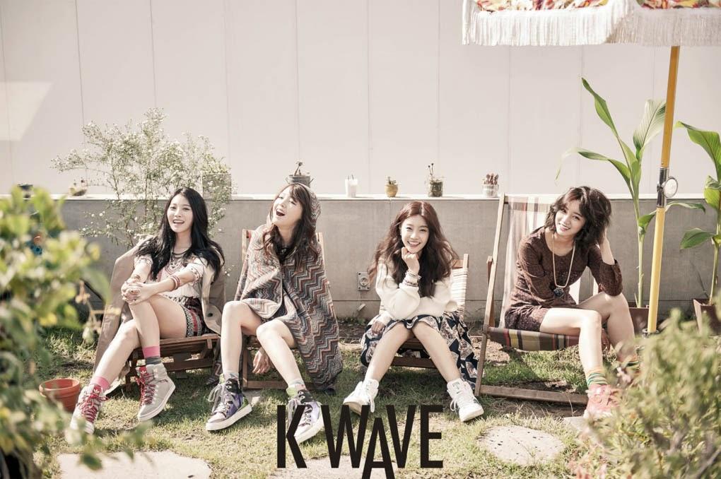 Girl's Day - K Wave Magazine November Issue 2014