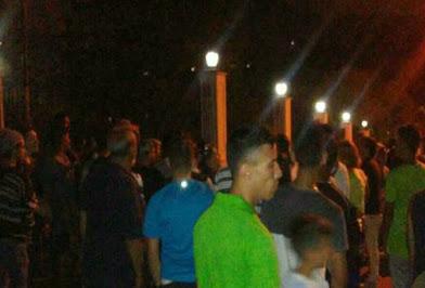 Policía y militares repliegan protesta en Miraflores
