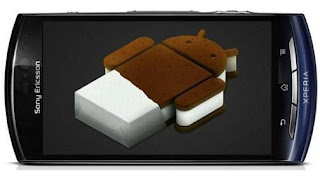 Android 4.0 Ice Cream Sandwich ICS for Xperia Arc S, Xperia Neo V and Xperia Ray