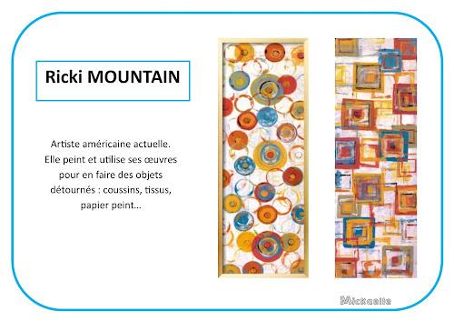 Ricki Mountain - Portrait d'artiste en maternelle