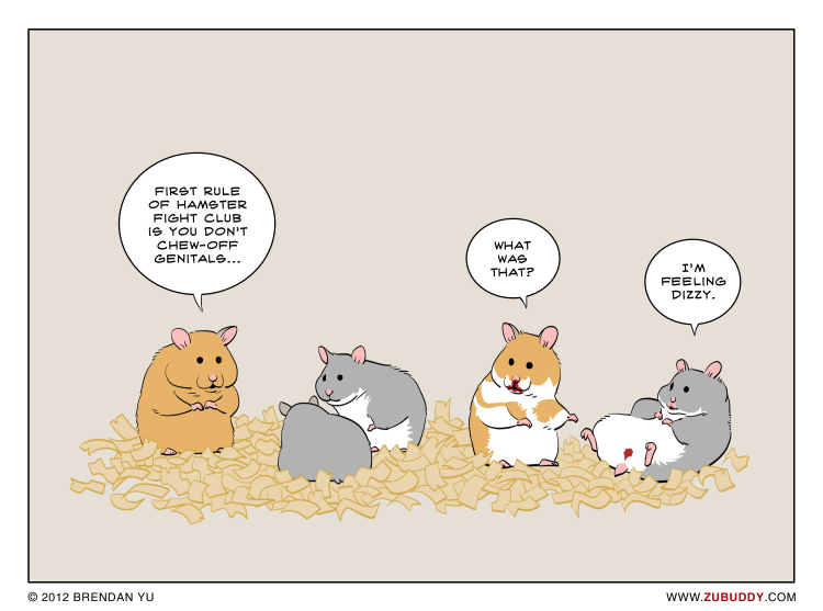 Hamster Fight Club