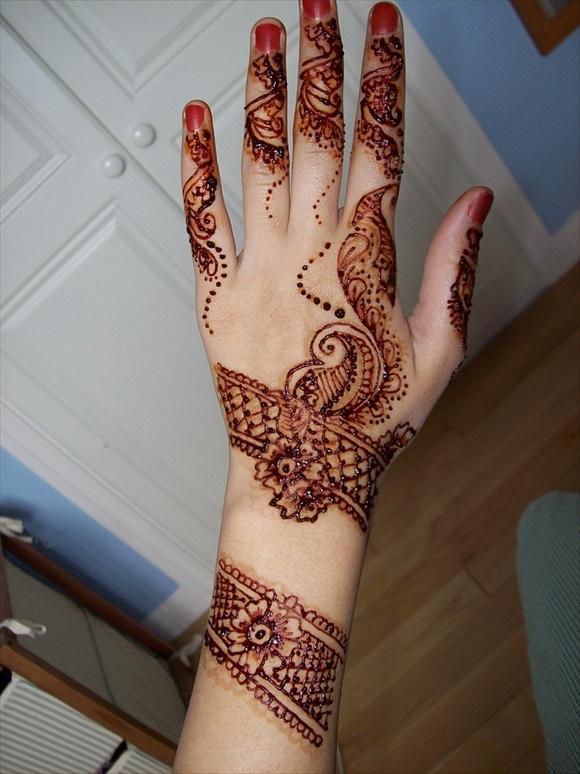 mehndi bridal designs
