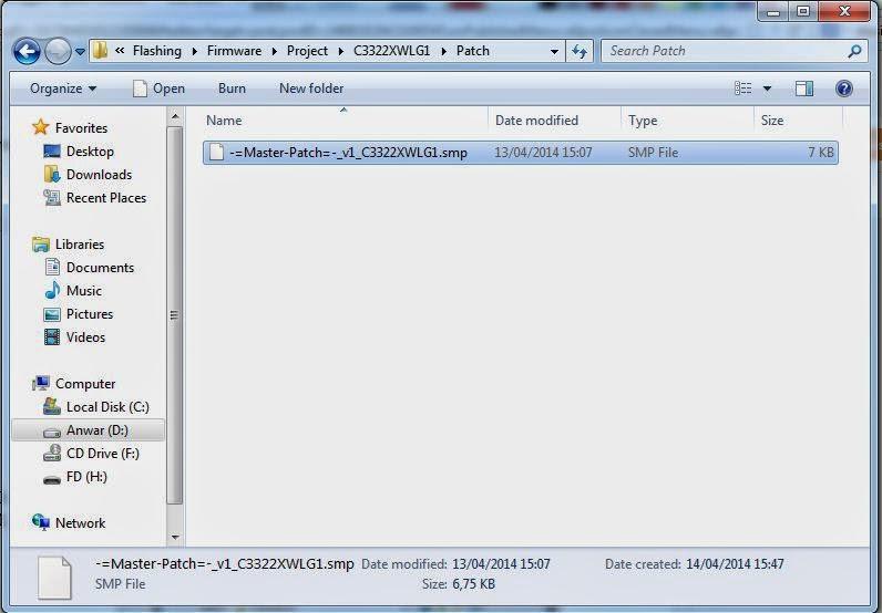 letak folder patch
