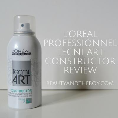 L'Oreal Professionnel Tecni Art Constructor Review