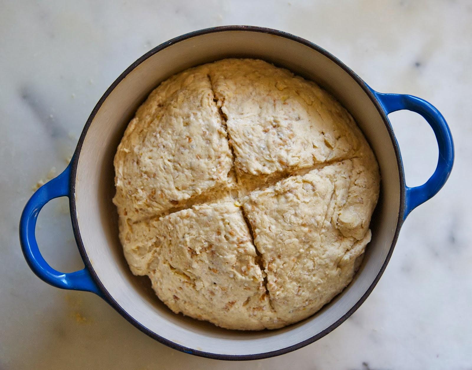 My Recession Kitchen...and garden: Multigrain Irish Soda Bread