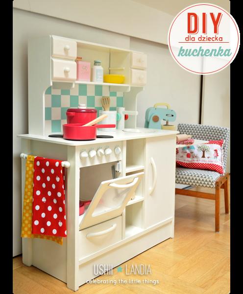 27 Wnętrzarskich DIY, które zrobiły na mnie największe wrażenie  Conchita Home -> Drewniana Kuchnia Dla Dzieci Jak Zrobic