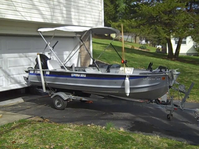 Fishin 39 w the redneckangler for sale 14ft sea nymph for How much does a fishing boat cost