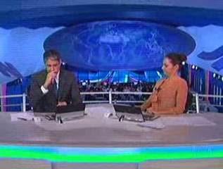 Bonner e Poeta ficam perdidos em cobertura ao vivo; Globo teme invasão