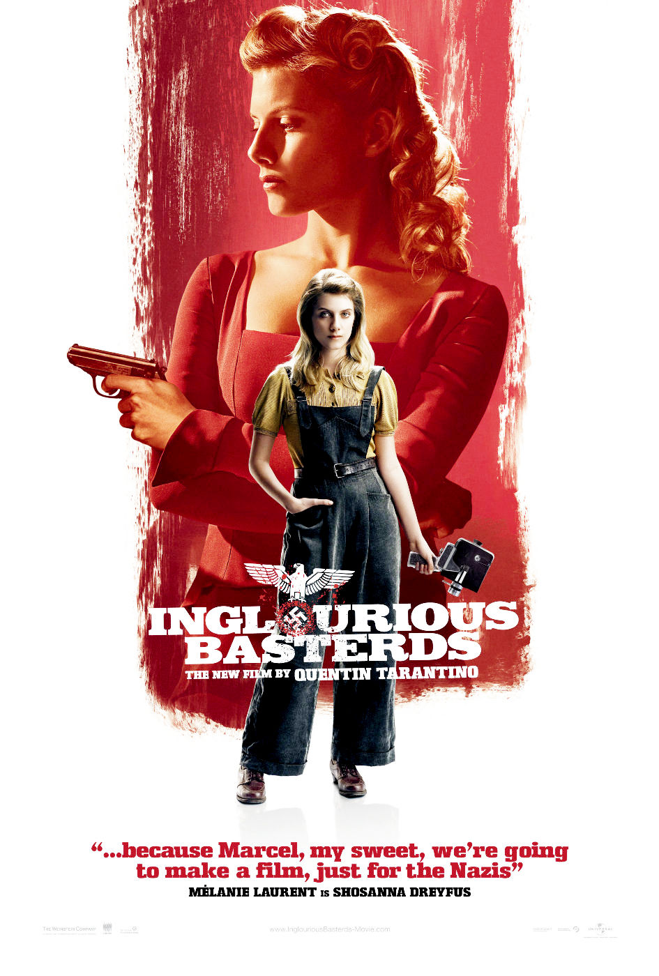 The Geeky Nerfherder: Movie Poster Art: Inglourious ...