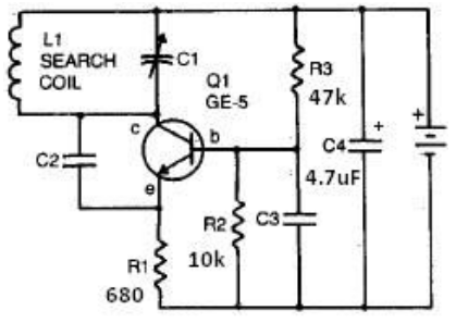 Metal Detector Wiring Diagrams on wiring diagram for pioneer head unit