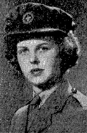 Flight Officer Kay Stambaugh RCAF (WD)