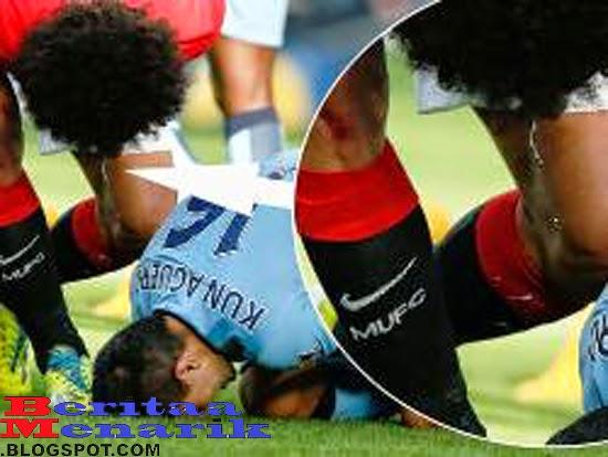 Beberapa Aksi Meludah Dalam Sepakbola