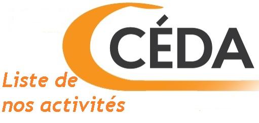 Activités du CÉDA