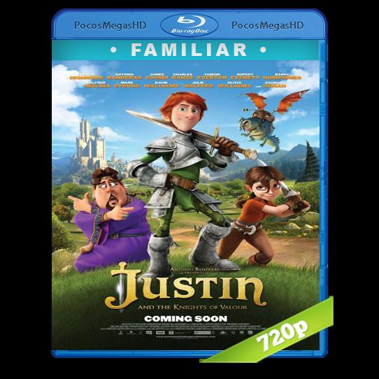 Justin y la espada del valor(2013) BrRip 720p Inglés AC3+subs