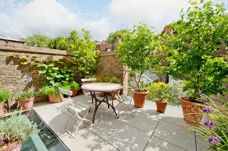 Estilo rustico terrazas rusticas for Ceramica rustica para terraza