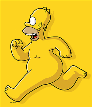 Dibujos a color los simpsons dibujos en color - Les simpson tout nu ...