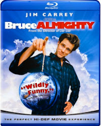 BRUCE ALMIGHTY on bluray