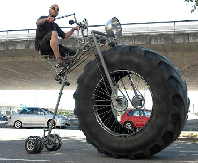 a Dutch art student and former mechanical engineer, who made the 450kg colossus