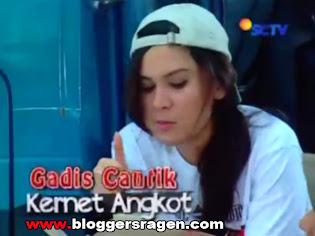 Gadis Cantik Kernet Angkot FTV