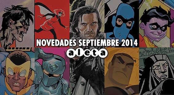 Aleta Ediciones: Novedades septiembre 2014