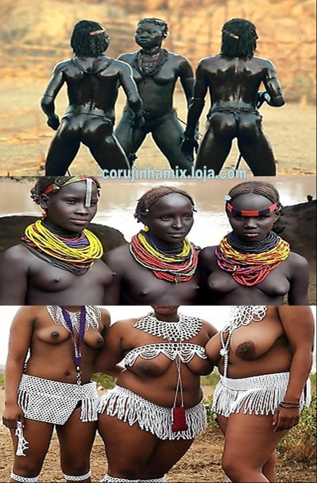 Sao Africanas Legitimas Em Acao Uma Beleza Eotica