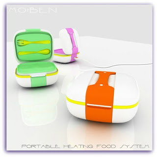 Portable Heating Food System Moben