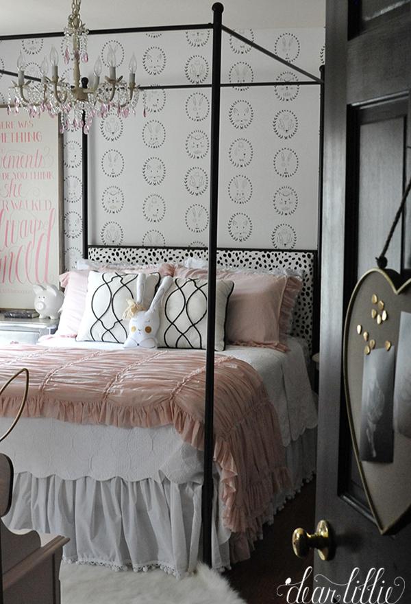 dear lillie lillie 39 s almost finished new room. Black Bedroom Furniture Sets. Home Design Ideas