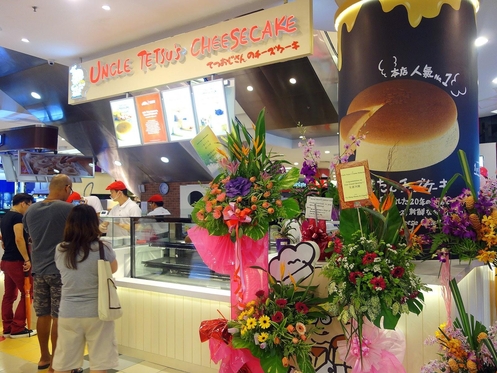 uncle tetsu's cheesecake @ 1 utama & ow:l espresso @ ss15 subang