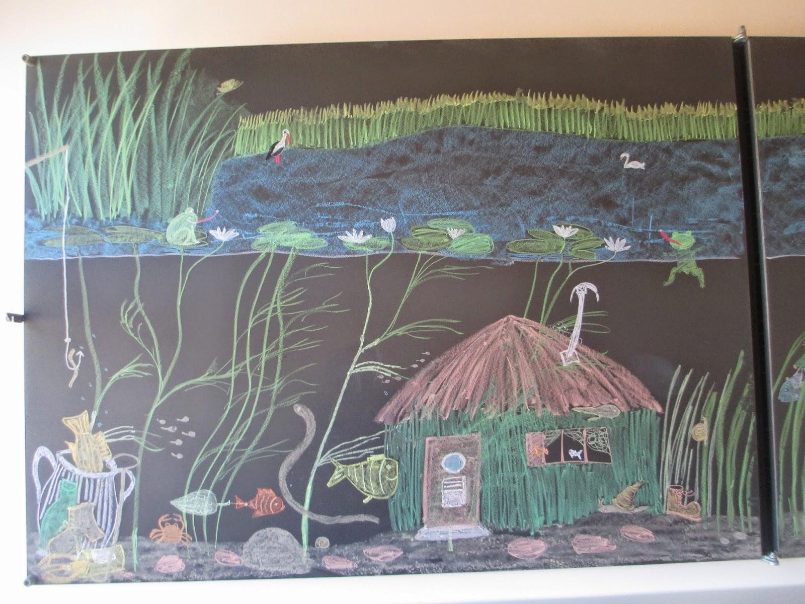 Teich und seine Bewohner