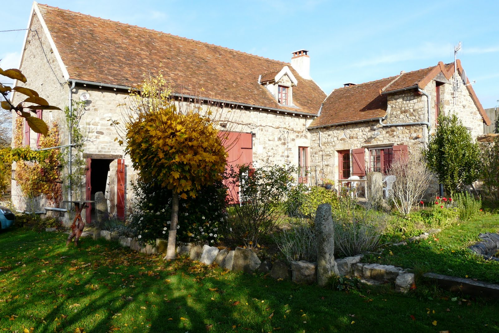 Huis kopen in het midden van frankrijk for Boerderijwoning te koop