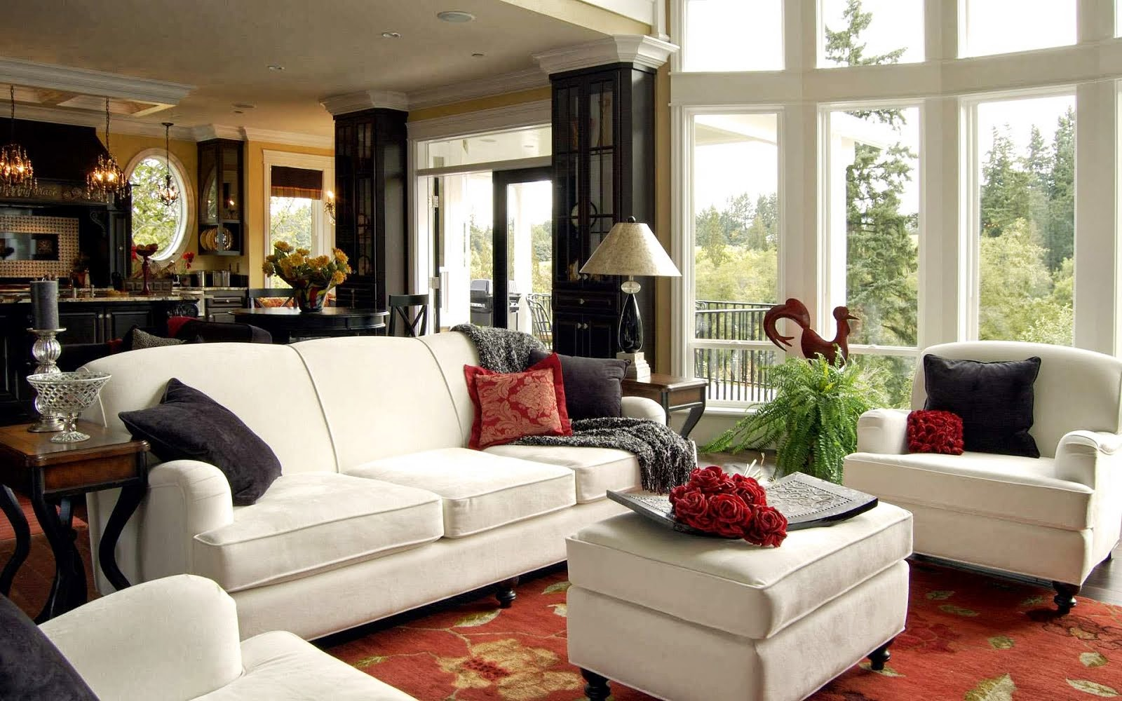 Interior design for living room for Living room designs for middle class