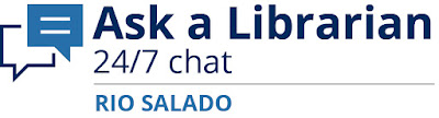 Ask a Librarian 24/7 chat Rio Salado