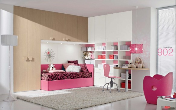 New Teenage Bedroom Designs