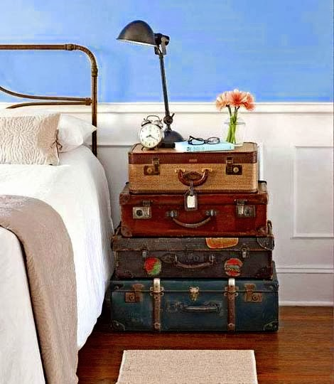 Say nighty-night to predictable matching nightstands, and hello to creative  bedside alternatives and enjoy!