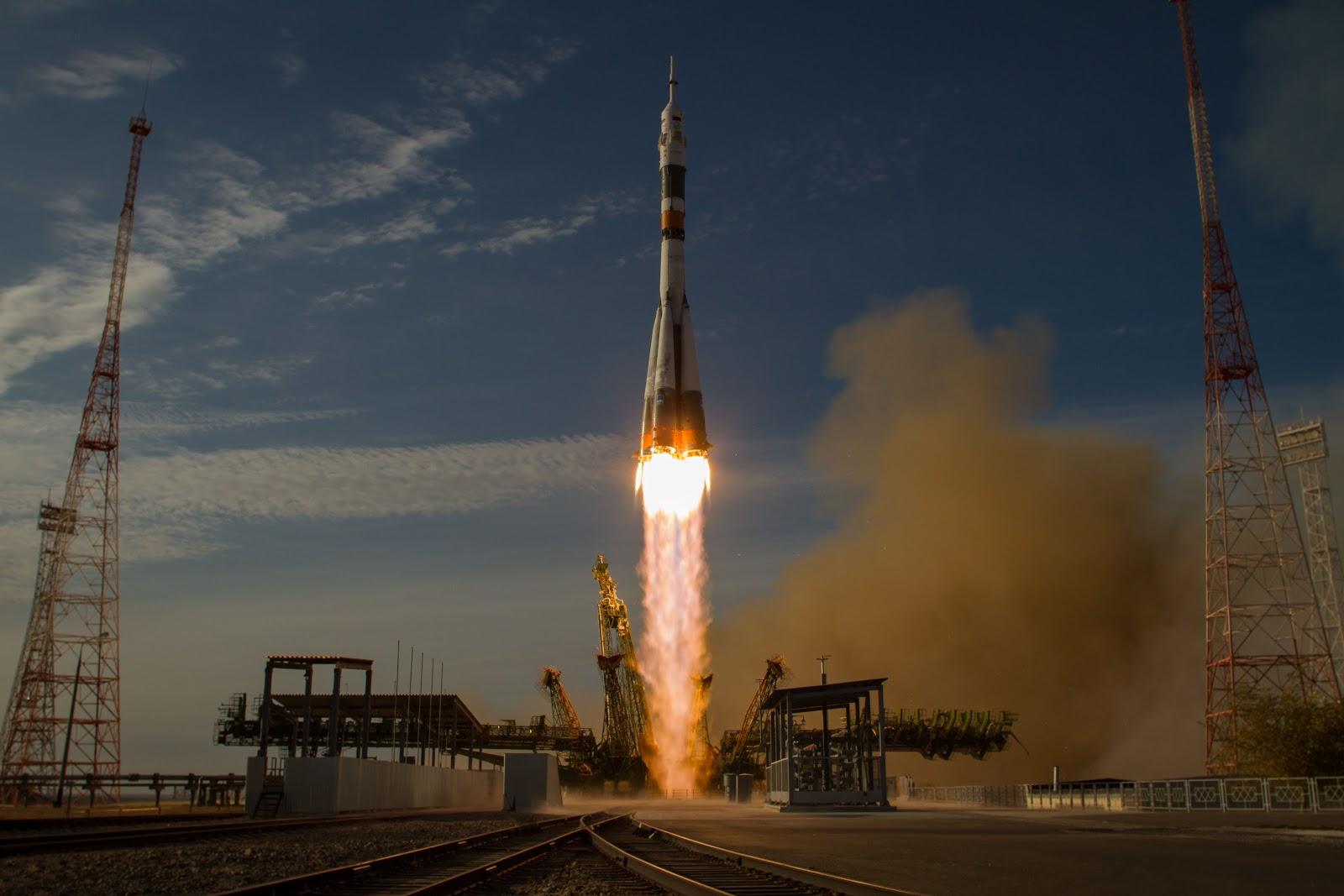 Missile che vince la forza di gravità